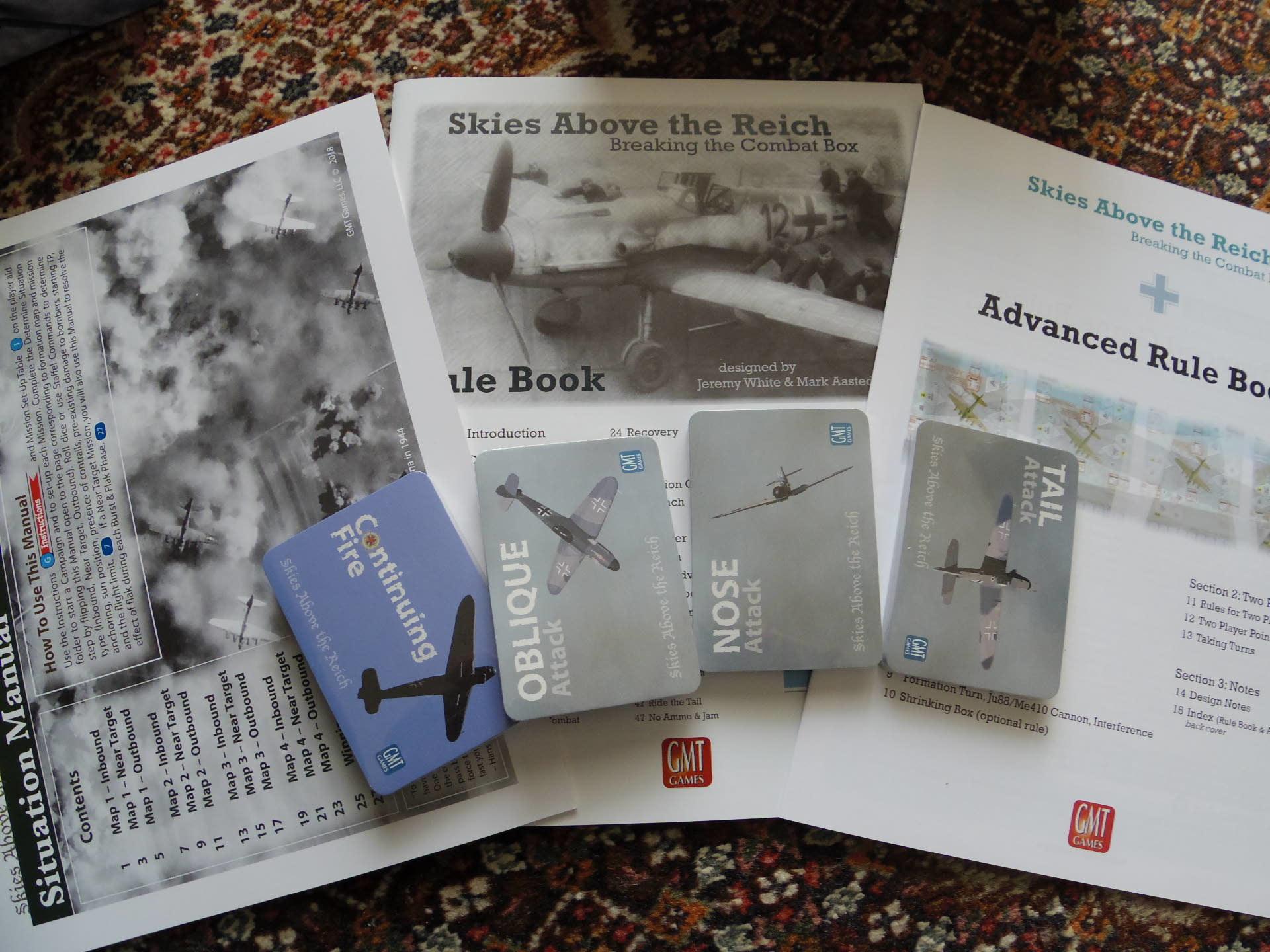 (GMT)Skies Above the Reich ドイツ本土昼間防空戦(ソロ専用)...かつてのウォーゲーム・ブーム期を上回る勢いで続々と出版される最新ゲームたち➁_b0173672_22571841.jpg