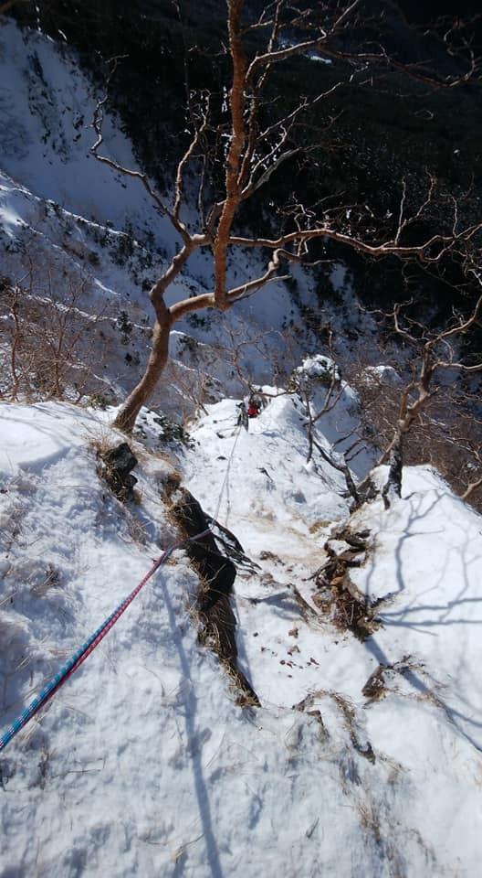 八ケ岳 石尊稜_e0231387_14561053.jpg