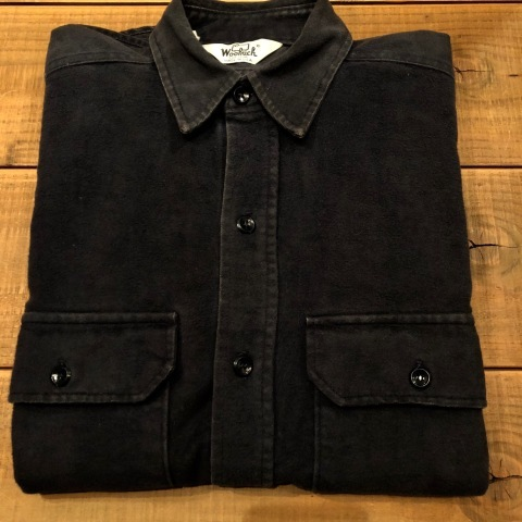 "1940s \"" U.S NAVAL CLOTHING FACTORY \"" - ALL Melton WOOL - Vintage 10 BUTTON P-COAT ._d0172088_18262928.jpg"