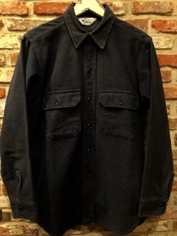 "1940s \"" U.S NAVAL CLOTHING FACTORY \"" - ALL Melton WOOL - Vintage 10 BUTTON P-COAT ._d0172088_18460162.jpg"