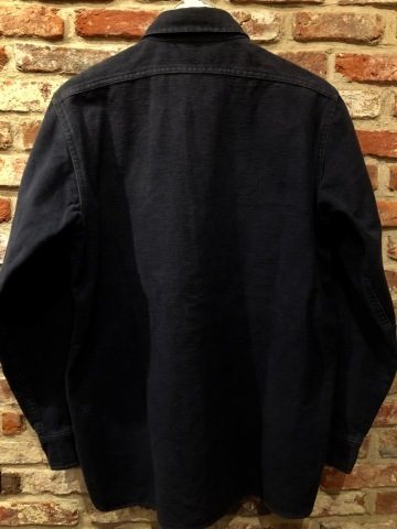 "1940s \"" U.S NAVAL CLOTHING FACTORY \"" - ALL Melton WOOL - Vintage 10 BUTTON P-COAT ._d0172088_18484204.jpg"