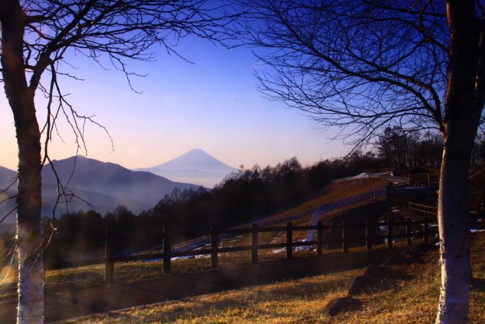30年12月の富士(18)八ヶ岳山麓の富士_e0344396_20403556.jpg