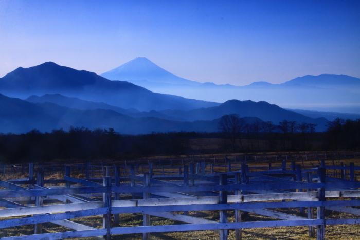 30年12月の富士(18)八ヶ岳山麓の富士_e0344396_20405248.jpg
