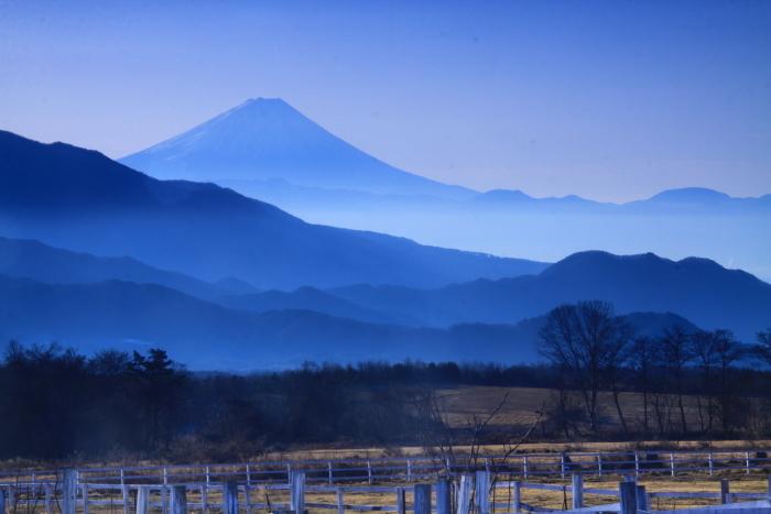 30年12月の富士(18)八ヶ岳山麓の富士_e0344396_20405899.jpg
