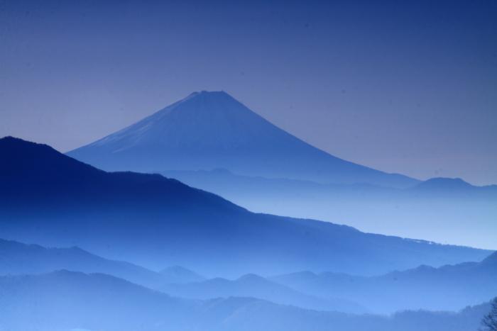 30年12月の富士(18)八ヶ岳山麓の富士_e0344396_20410592.jpg