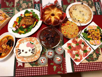 お家クリスマス会_c0106100_00175864.jpg