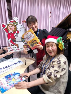 作曲家春畑セロリ先生の「妄想ピアノ部」のクリスマスパーティー_c0106100_08521937.jpg