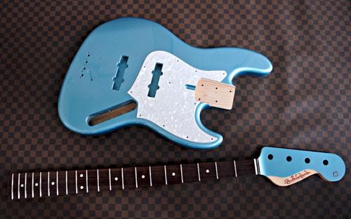 Aqua Veil Blue Pearl Meta色のSTD-Jの塗装が完了!_e0053731_15535149.jpg