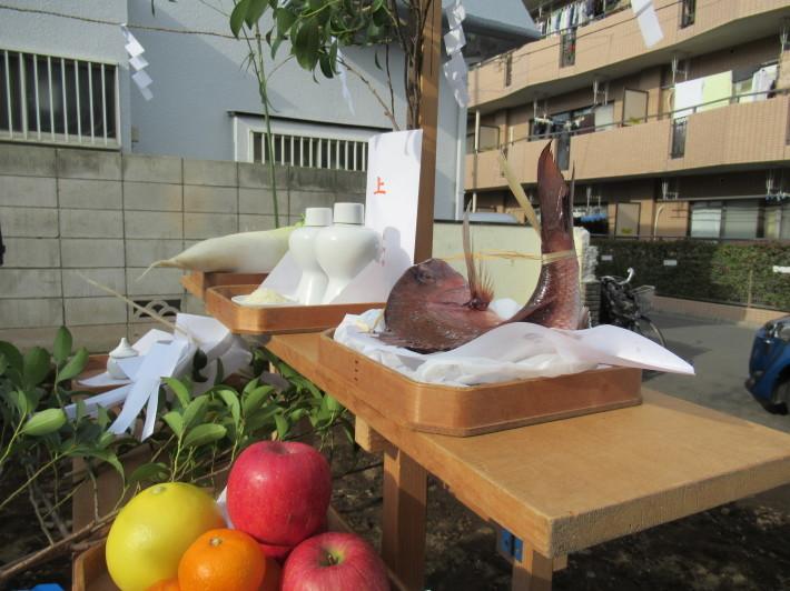 石神井の家☆地鎮祭が無事執り行われました。_c0152341_08202387.jpg