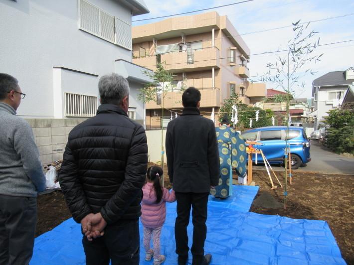 石神井の家☆地鎮祭が無事執り行われました。_c0152341_08211249.jpg
