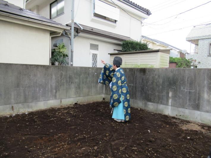 石神井の家☆地鎮祭が無事執り行われました。_c0152341_08213930.jpg