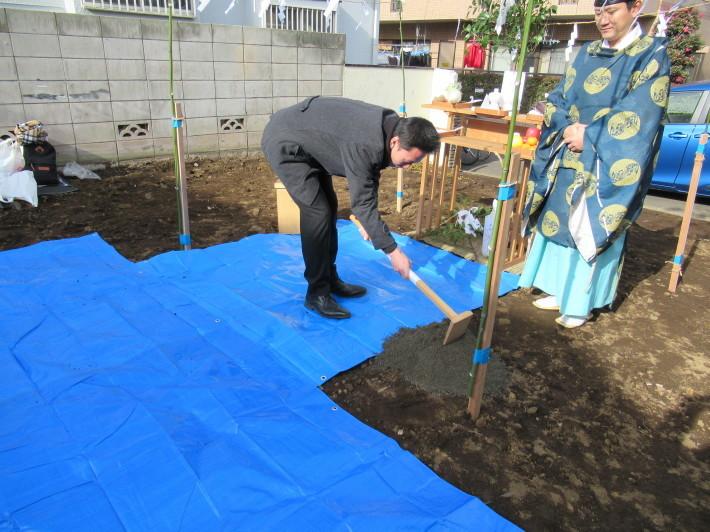 石神井の家☆地鎮祭が無事執り行われました。_c0152341_08222202.jpg