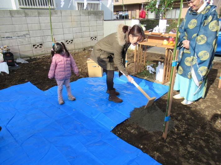 石神井の家☆地鎮祭が無事執り行われました。_c0152341_08231708.jpg