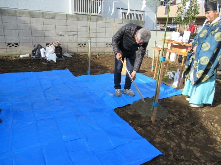 石神井の家☆地鎮祭が無事執り行われました。_c0152341_08252375.jpg