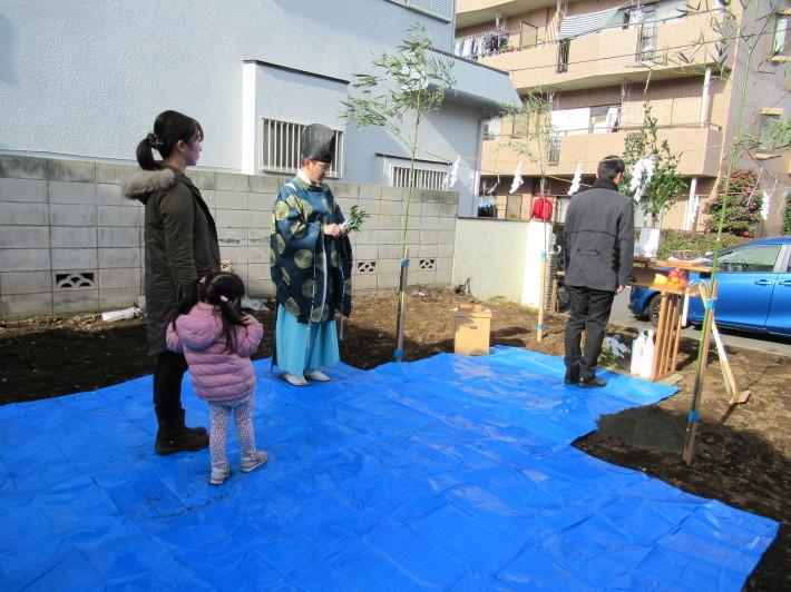 石神井の家☆地鎮祭が無事執り行われました。_c0152341_08271397.jpg