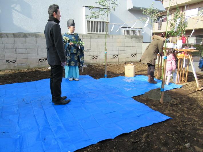 石神井の家☆地鎮祭が無事執り行われました。_c0152341_08274432.jpg
