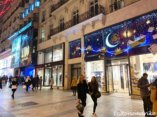クリスマス気分いっぱいの年末のパリモードへ・・・_c0024345_15544271.jpg