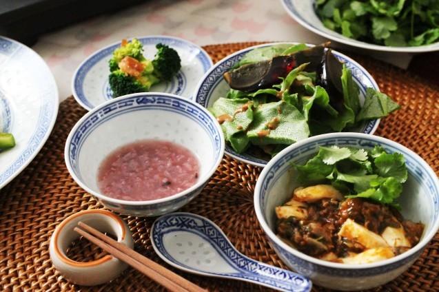 中華粥と麻婆豆腐_d0377645_00095915.jpg