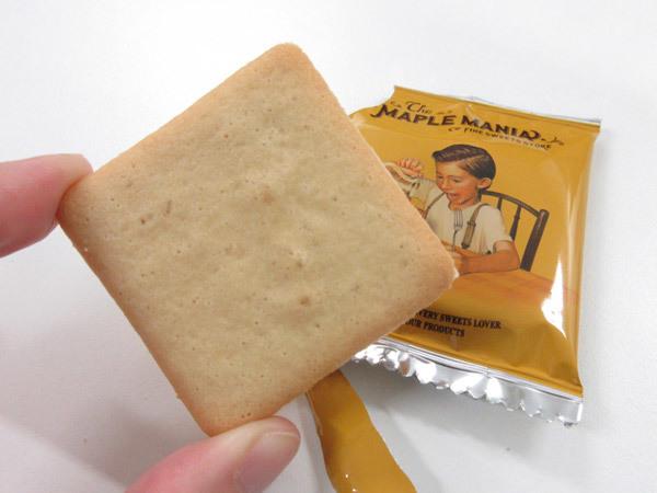 【ザ・メープルマニア】メープルバタークッキー_c0152767_21400798.jpg
