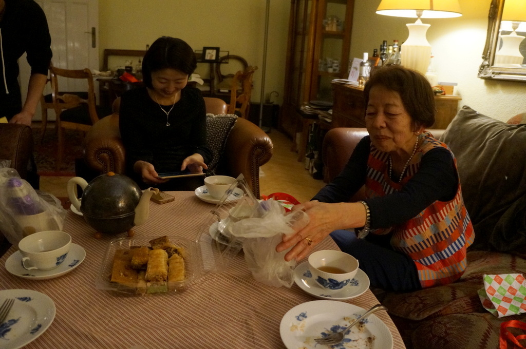 ゲンゼを食す(続)クリスマス晩餐_c0180686_22170807.jpg