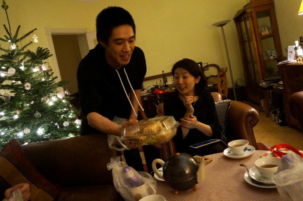 ゲンゼを食す(続)クリスマス晩餐_c0180686_22172663.jpg