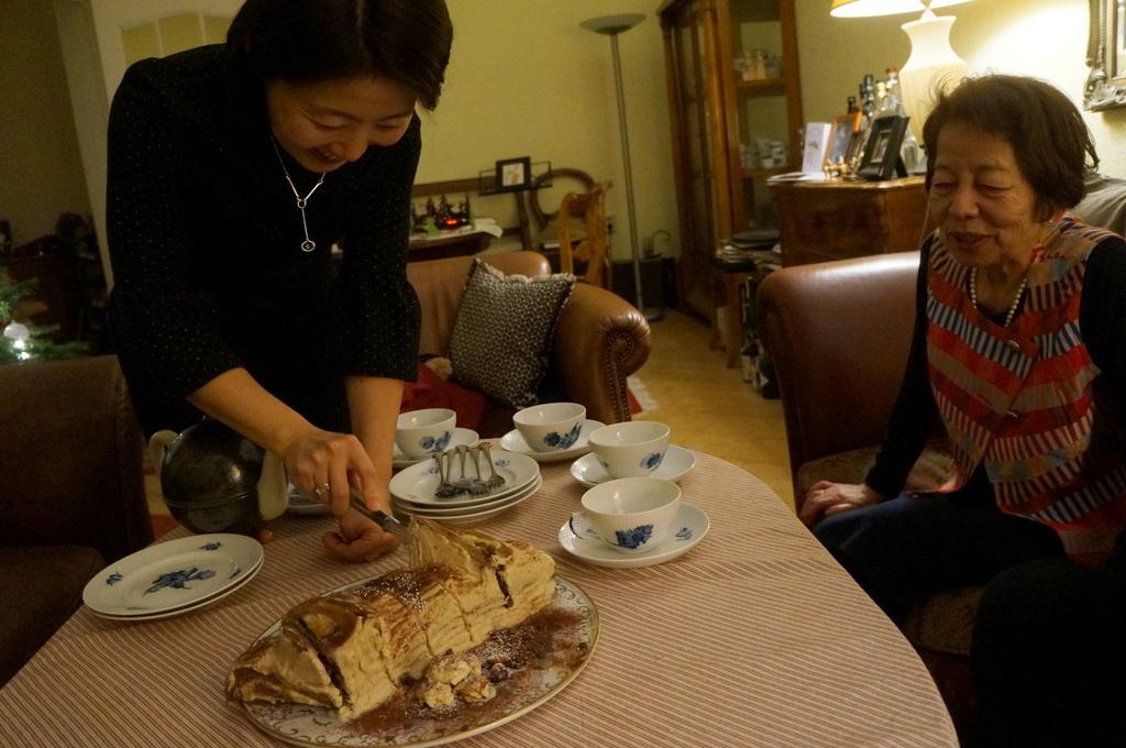 ゲンゼを食す(続)クリスマス晩餐_c0180686_22190027.jpg