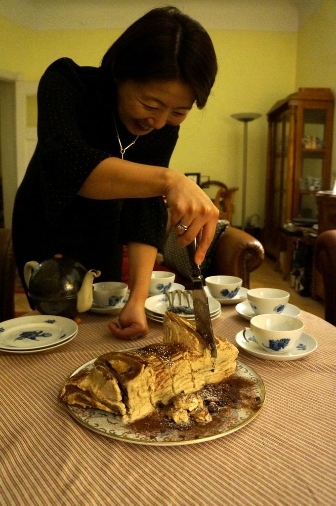ゲンゼを食す(続)クリスマス晩餐_c0180686_22191100.jpg