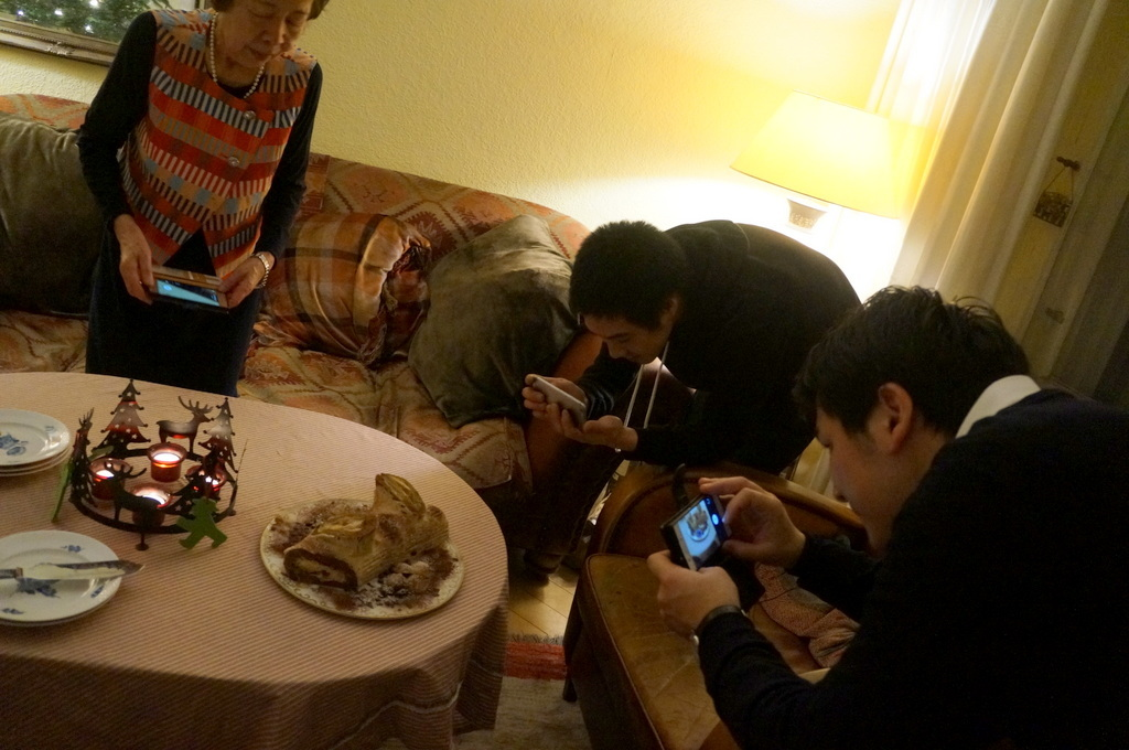 ゲンゼを食す(続)クリスマス晩餐_c0180686_22201420.jpg