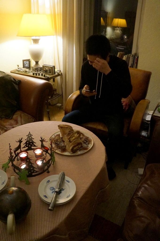 ゲンゼを食す(続)クリスマス晩餐_c0180686_22204510.jpg