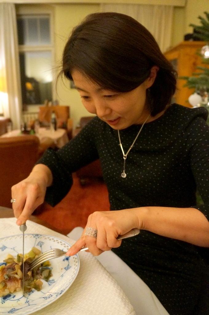 ゲンゼを食す(続)クリスマス晩餐_c0180686_22212273.jpg