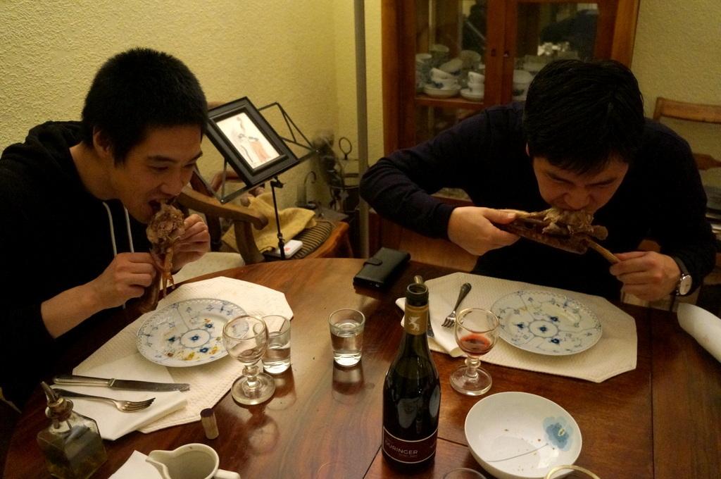 ゲンゼを食す(続)クリスマス晩餐_c0180686_22213288.jpg