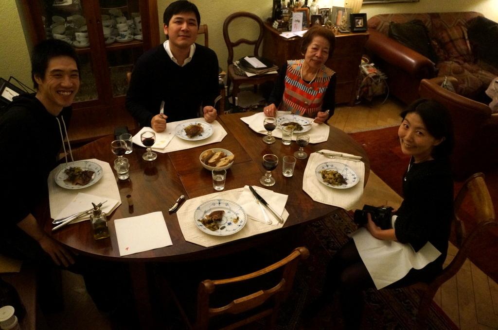 ゲンゼを食す(続)クリスマス晩餐_c0180686_22220358.jpg