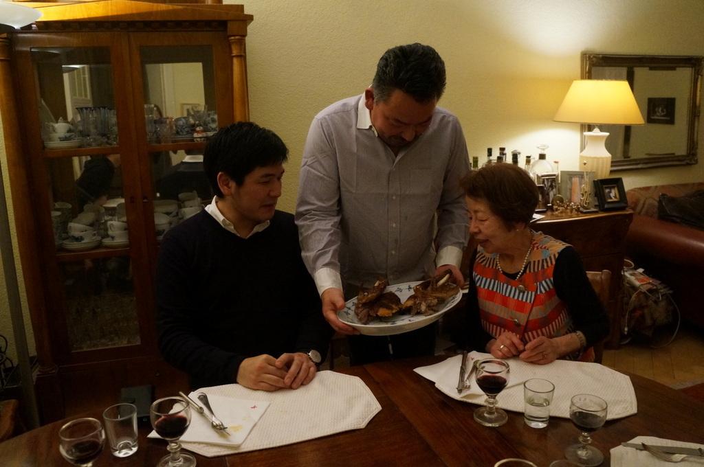 ゲンゼを食す(続)クリスマス晩餐_c0180686_22223904.jpg