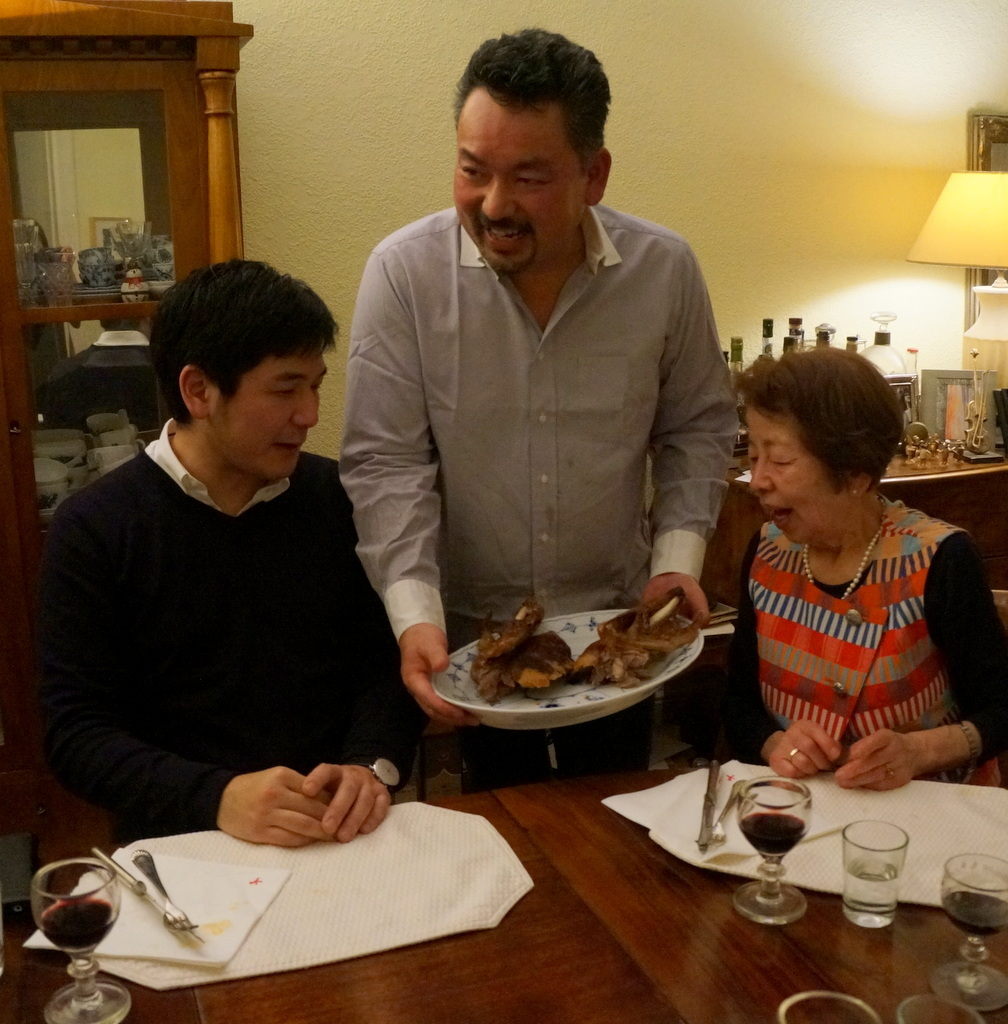 ゲンゼを食す(続)クリスマス晩餐_c0180686_22231737.jpg