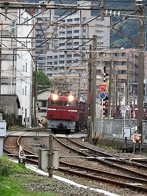 藤田八束の鉄道写真@鹿児島駅貨物列車の写真、長い旅を終えた貨物たちが最南端のこの鹿児島貨物ターミナルに到着_d0181492_11483057.jpg
