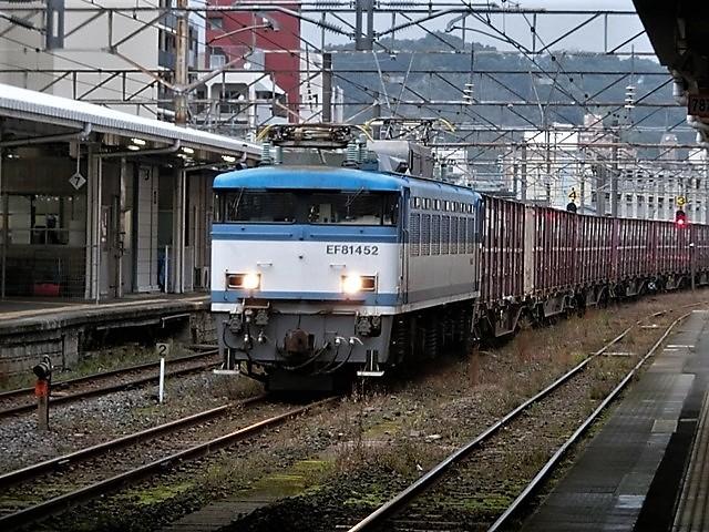 藤田八束の鉄道写真@鹿児島駅貨物列車の写真、長い旅を終えた貨物たちが最南端のこの鹿児島貨物ターミナルに到着_d0181492_12061943.jpg