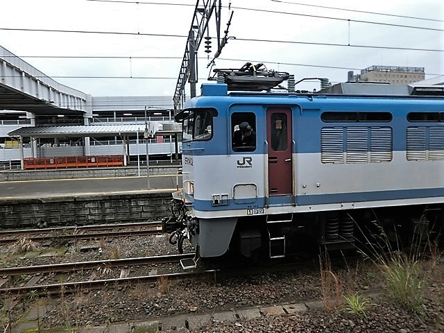 藤田八束の鉄道写真@鹿児島駅貨物列車の写真、長い旅を終えた貨物たちが最南端のこの鹿児島貨物ターミナルに到着_d0181492_12072099.jpg