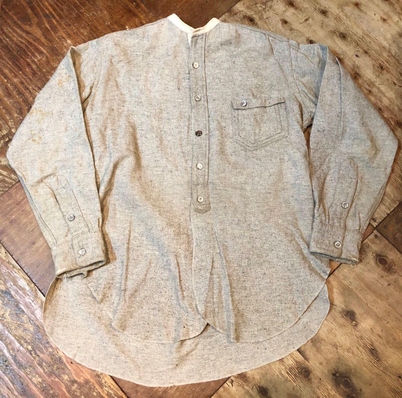1/2新春入荷! 20s~変形ポケット SIGNAL PULL OVER WOOL ワークシャツ! _c0144020_15215357.jpg