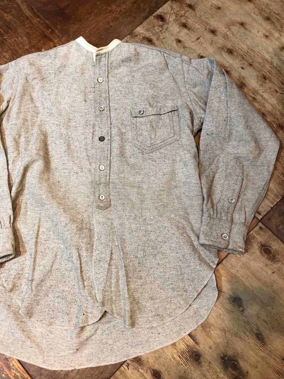 1/2新春入荷! 20s~変形ポケット SIGNAL PULL OVER WOOL ワークシャツ! _c0144020_15215505.jpg