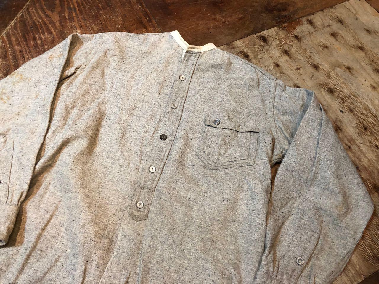 1/2新春入荷! 20s~変形ポケット SIGNAL PULL OVER WOOL ワークシャツ! _c0144020_15215950.jpg