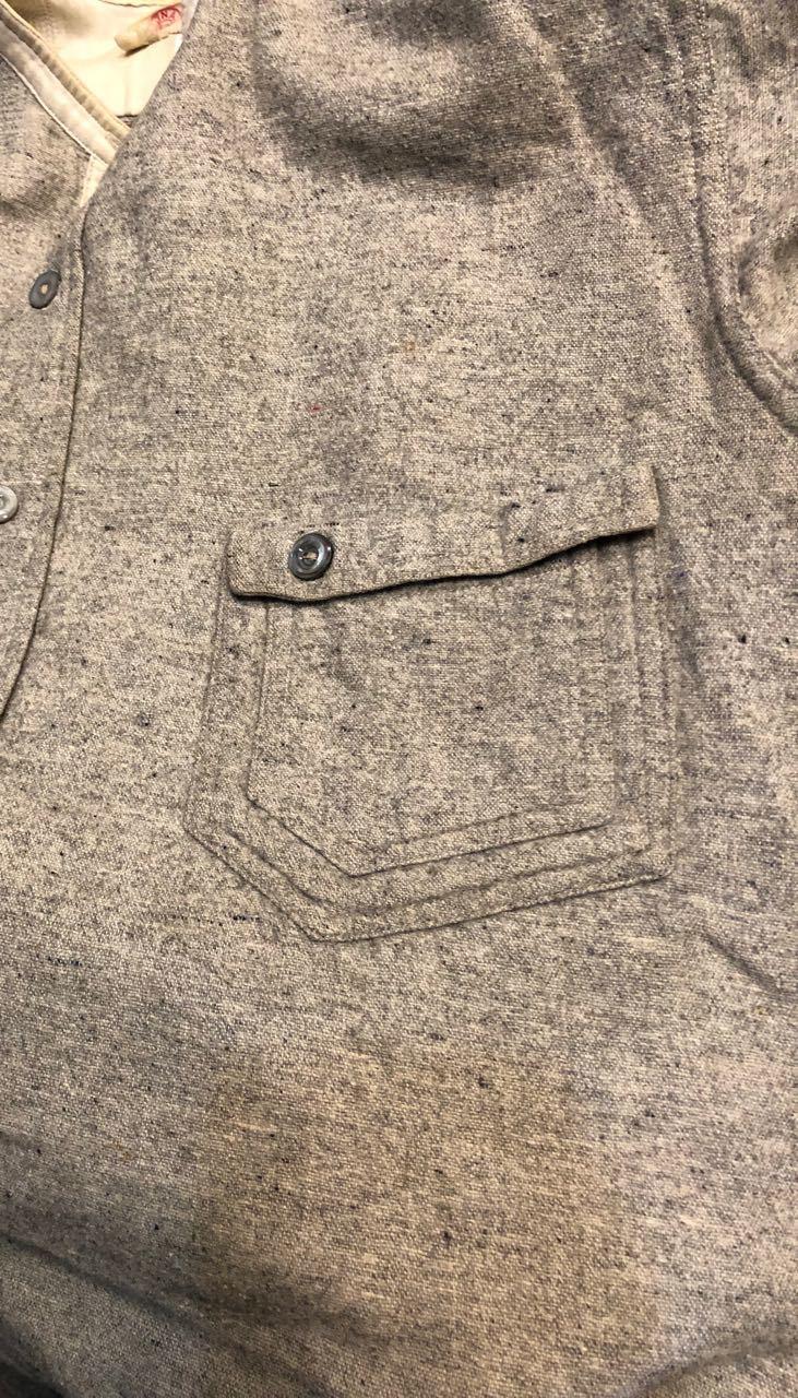 1/2新春入荷! 20s~変形ポケット SIGNAL PULL OVER WOOL ワークシャツ! _c0144020_15220276.jpg