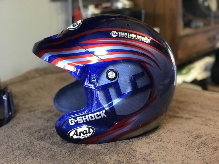 2019 TLCダカール・ラリー用ヘルメット_e0196826_17024943.jpeg