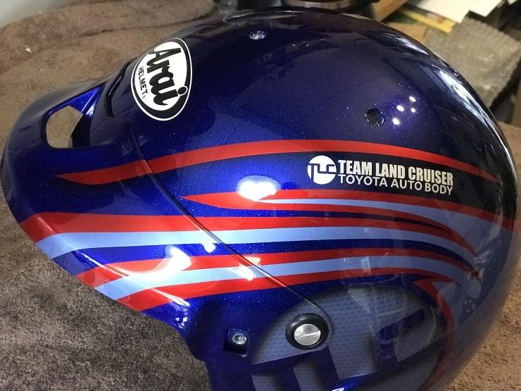 2019 TLCダカール・ラリー用ヘルメット_e0196826_17033049.jpeg
