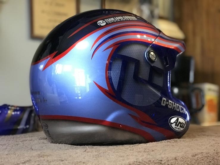 2019 TLCダカール・ラリー用ヘルメット_e0196826_17042859.jpeg
