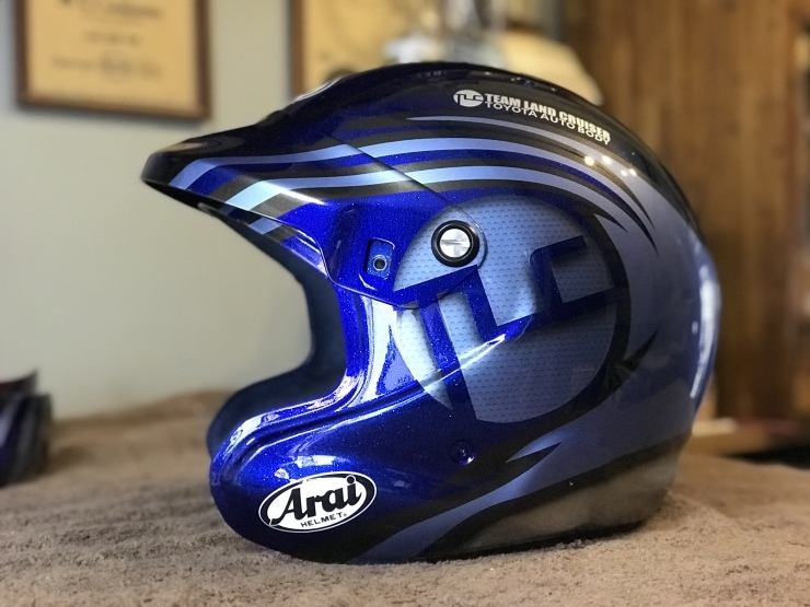 2019 TLCダカール・ラリー用ヘルメット_e0196826_17053342.jpeg