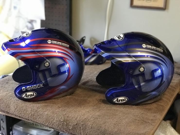 2019 TLCダカール・ラリー用ヘルメット_e0196826_17062565.jpeg