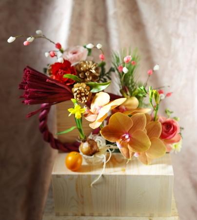お正月のお花発送しました、今年もありがとうございました_a0042928_00035309.jpg