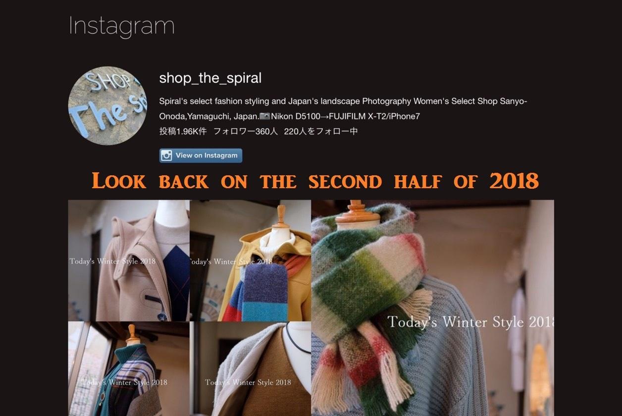 """""""Instagramで2018年を振り返る~下半期...12/30sun\""""_d0153941_17063844.jpg"""