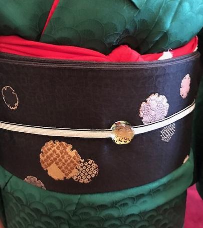 クリスマス会・最終・クリスマスカラーの着物と小物のお客様_f0181251_13131231.jpg