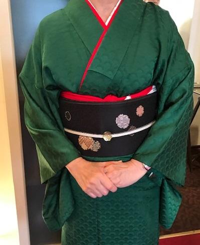 クリスマス会・最終・クリスマスカラーの着物と小物のお客様_f0181251_132584.jpg